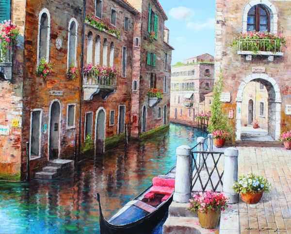 Venetian Color by  Soon Ju Choi  - Masterpiece Online