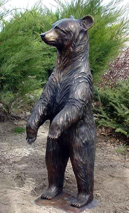 Black Bear Standing -... by  Danny D. Edwards - Masterpiece Online