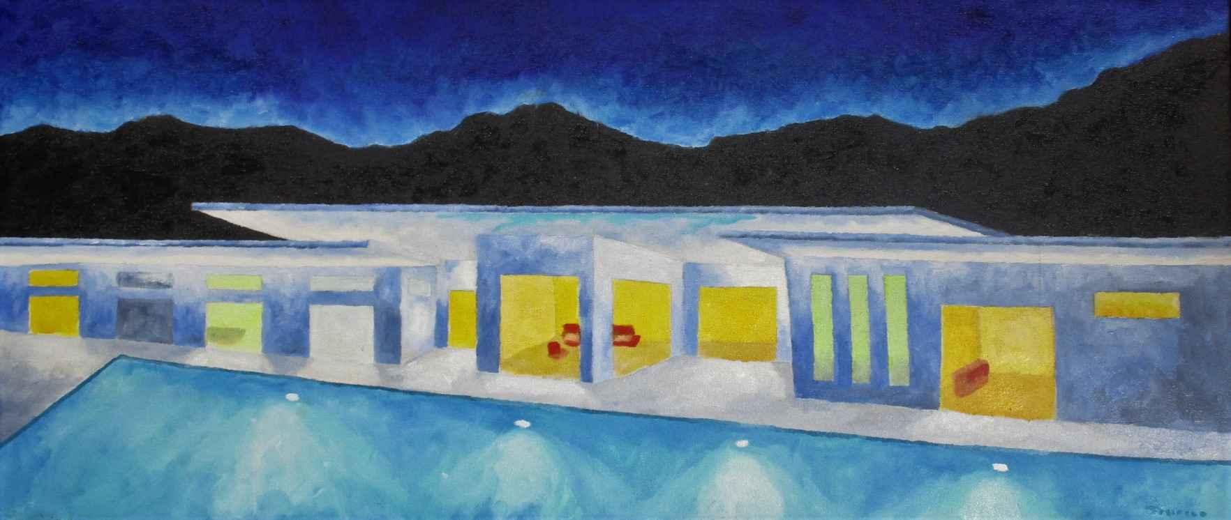Swimmer's Home by  Mitch Freifeld - Masterpiece Online