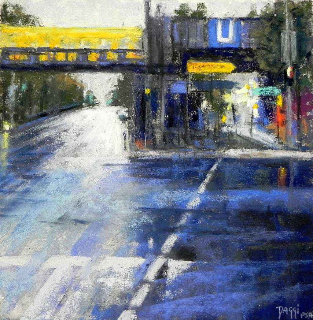 Berlin UBahn II by  Daggi Wallace - Masterpiece Online