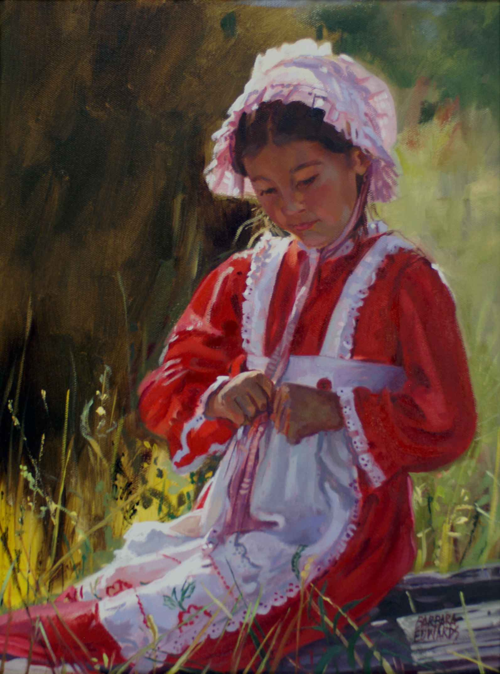 Tall Grass Tickles by  Barbara Summers Edwards - Masterpiece Online
