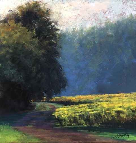 Around the Bend in th... by  Amanda Houston - Masterpiece Online