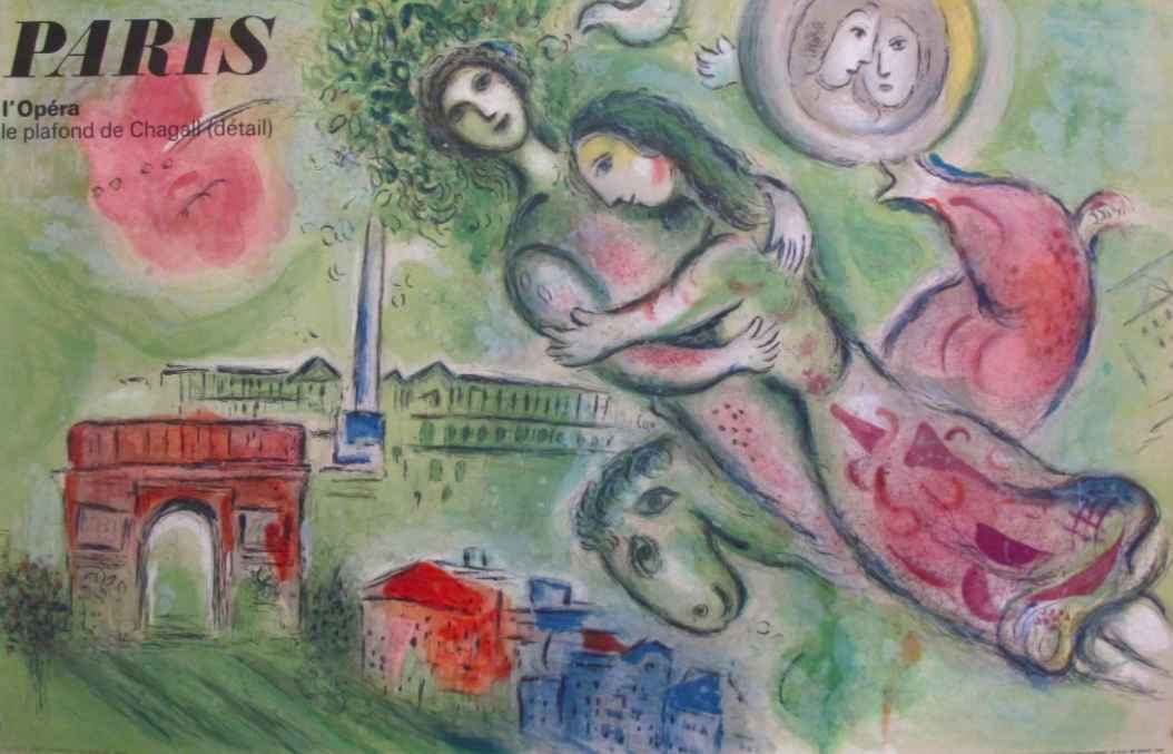 Paris - L'Opera - Le ... by  Marc Chagall - Masterpiece Online