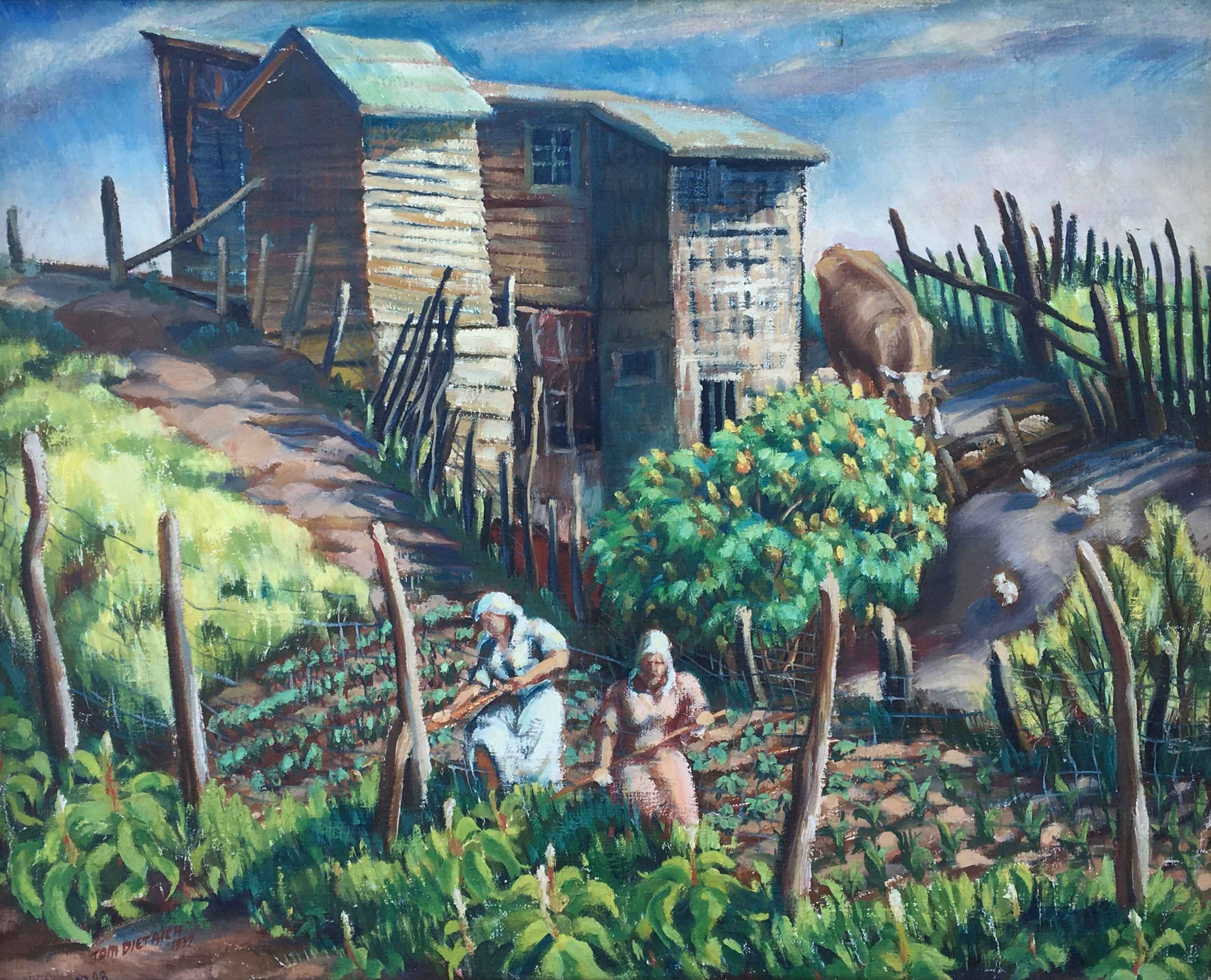 Untitled (Early Farms... by Mr. Tom Dietrich - Masterpiece Online