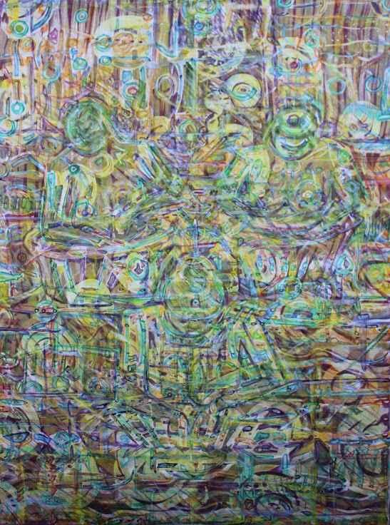 Patterning by  Makemba Kunle - Masterpiece Online