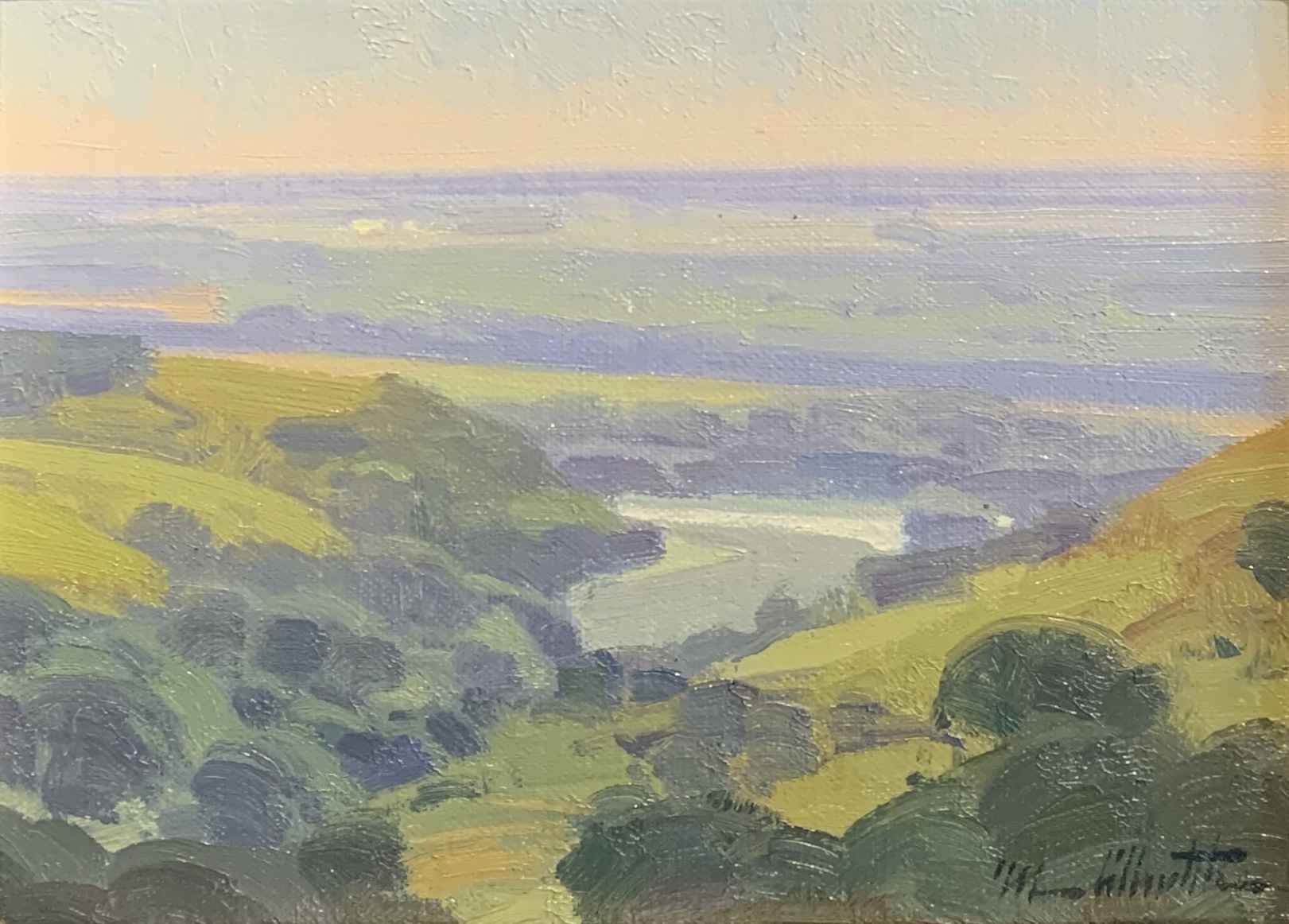 At the Lookout by  Michael Albrechtsen - Masterpiece Online