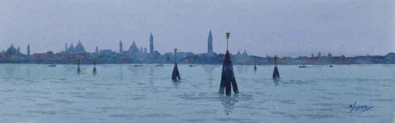 Venice from the Lido,... by  Colin Joyce - Masterpiece Online