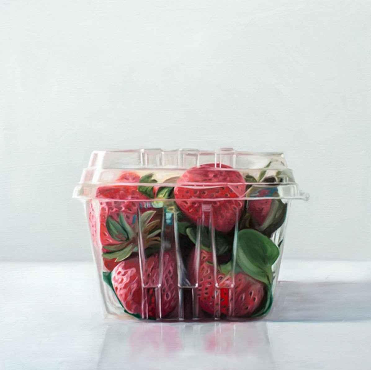 Box Of Strawberries  by  Lauren Pretorius