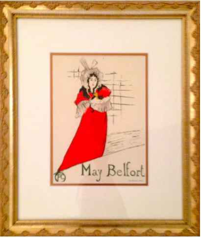 1950 Vintage May Belf... by   Toulouse-Lautrec - Masterpiece Online