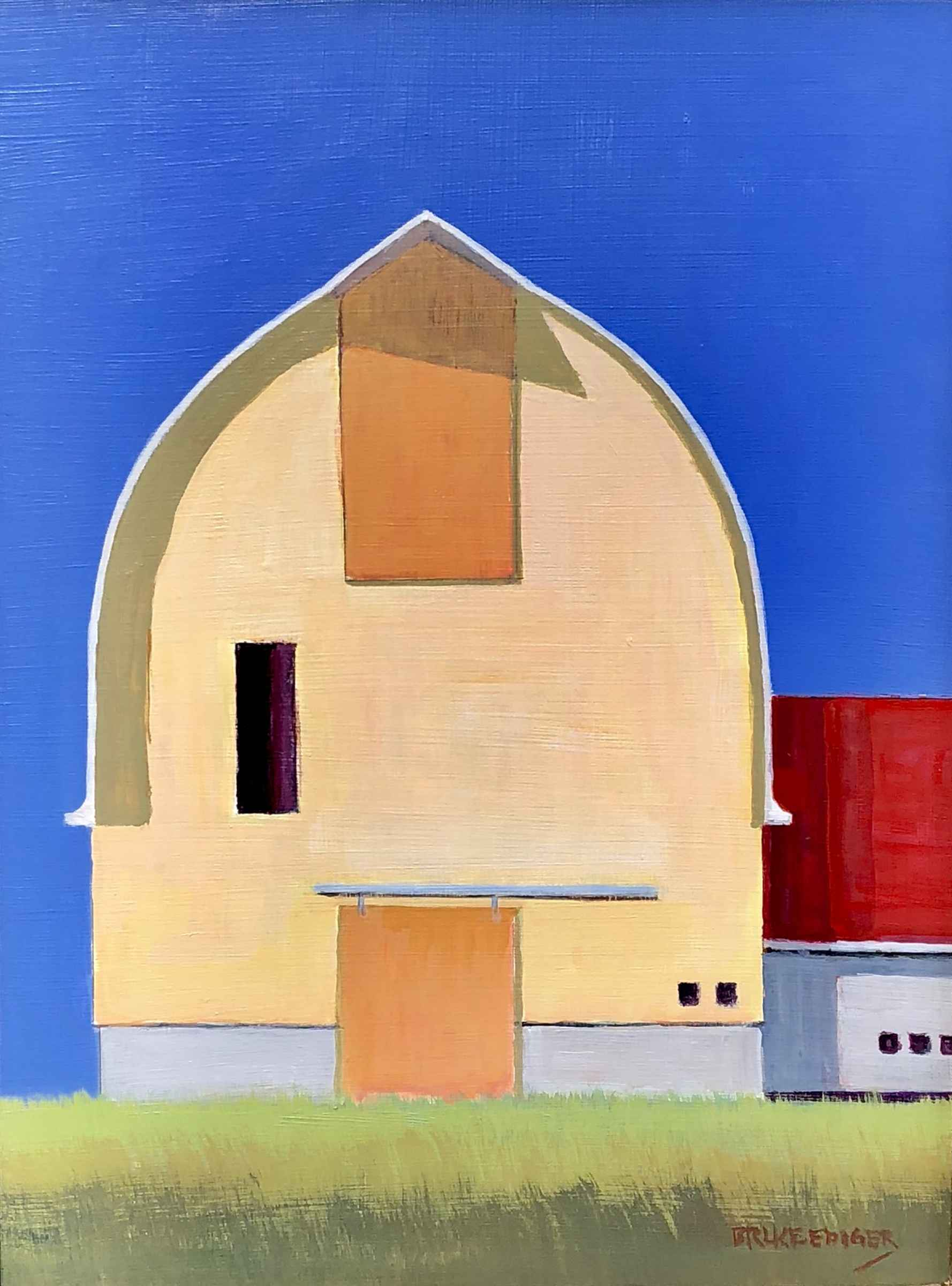 Horton Yellow Barn  by  Bruce Ediger