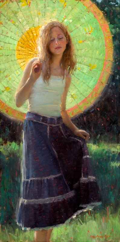 Harmony in Green and ... by  Bryce Cameron Liston - Masterpiece Online