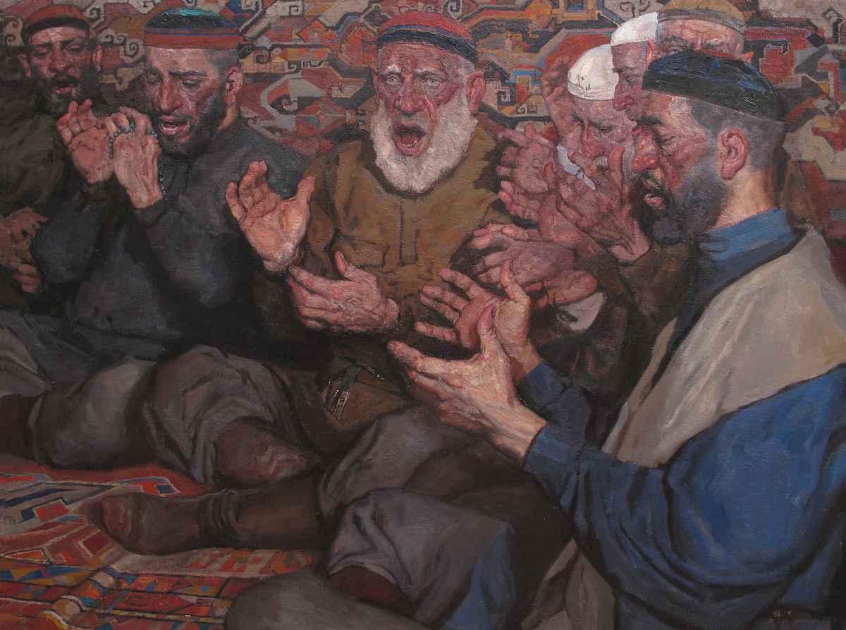 Nazm by  Daud Akhriev - Masterpiece Online
