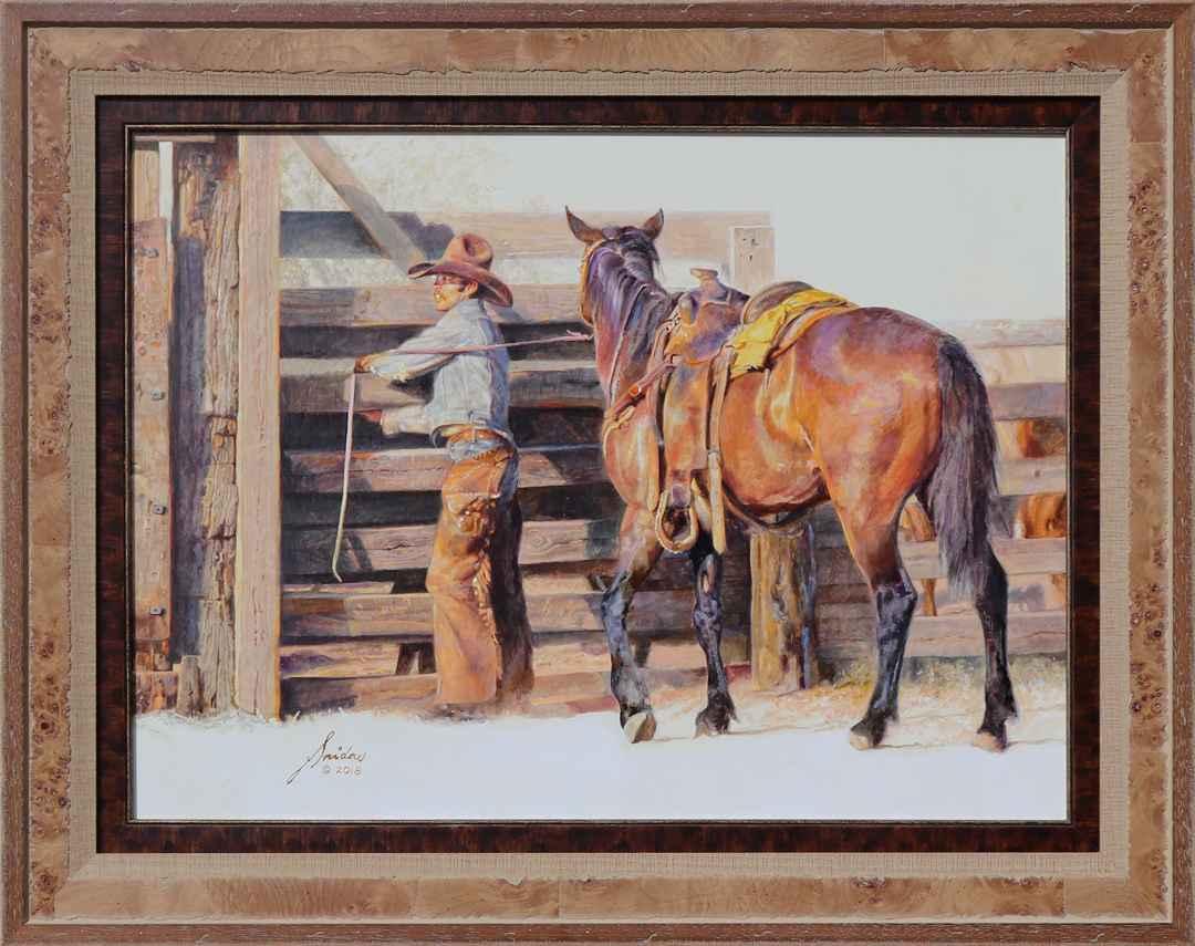 Top Hand by  Gordon Snidow - Masterpiece Online