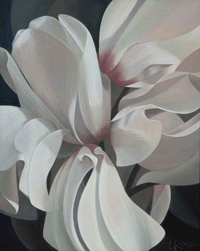 Cyclamen #1 by  Laurie Koss - Masterpiece Online