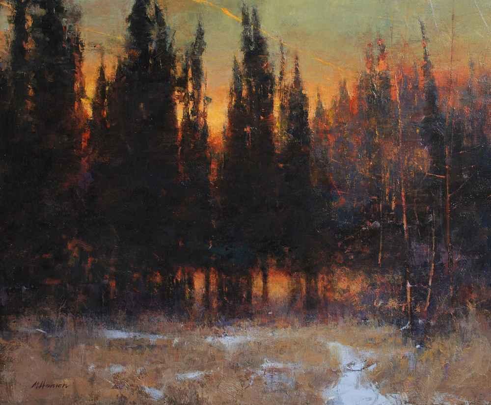 Winter's Last Sign by  Marc R. Hanson - Masterpiece Online