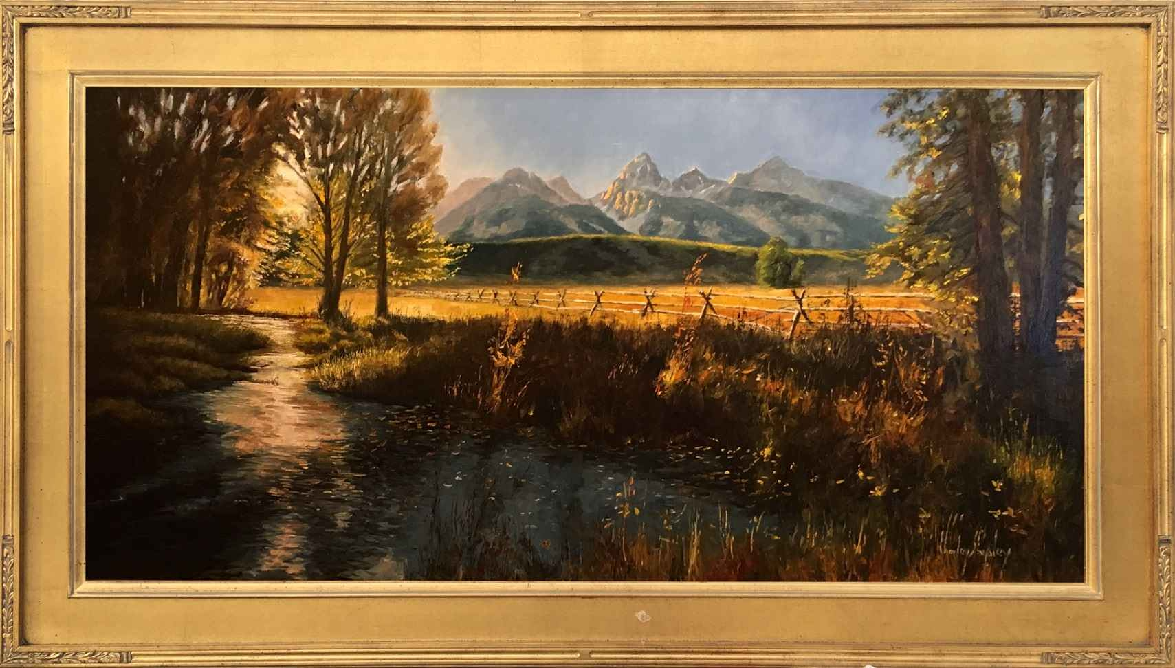 Peace in the Valley by  Charley Shipley - Masterpiece Online