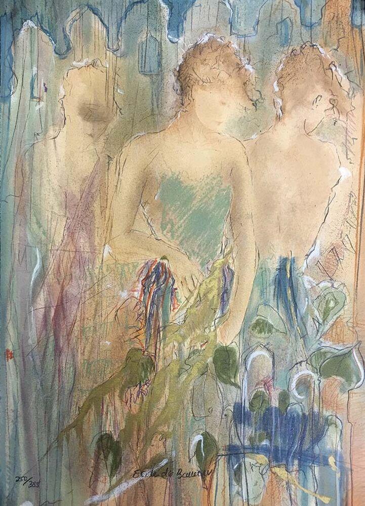 Ecole de Ballet IV by  Janet Treby - Masterpiece Online