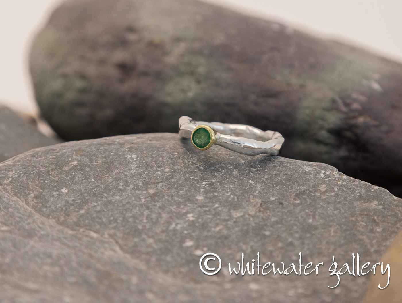 Rustic Rockpool Ring ... by  Marsha Drew - Masterpiece Online