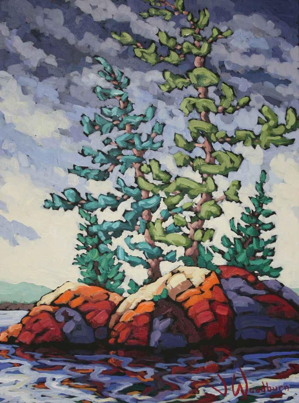 Storm Approaching Com... by Ms Jennifer Woodburn - Masterpiece Online