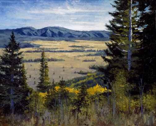 Mountain Vista by  Janet Broussard - Masterpiece Online
