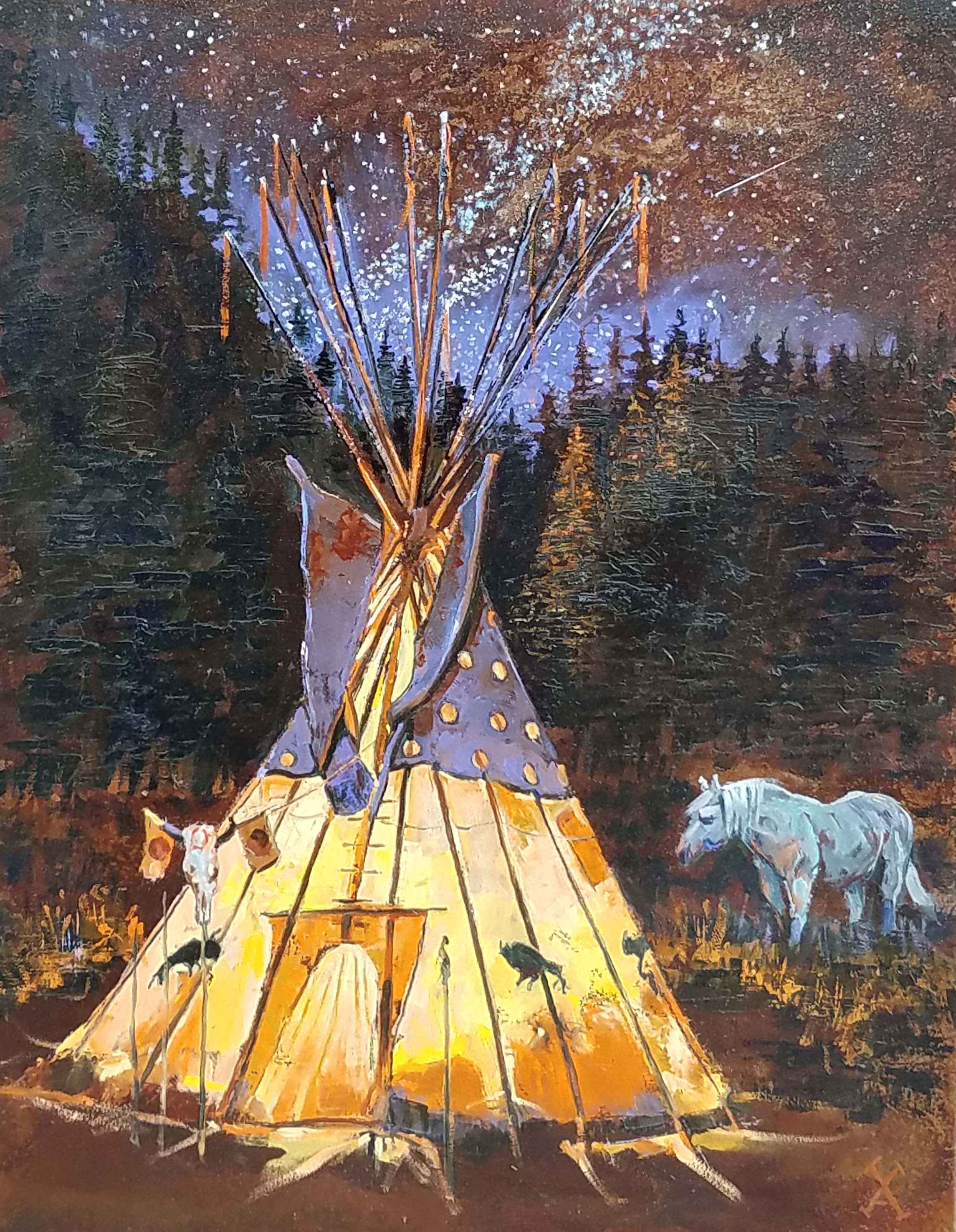 Enchanted Encampment by  David Volsic - Masterpiece Online