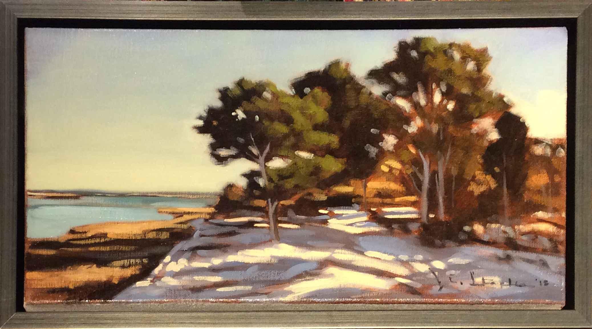 Snow On Felix Neck by  Jeanne Staples - Masterpiece Online
