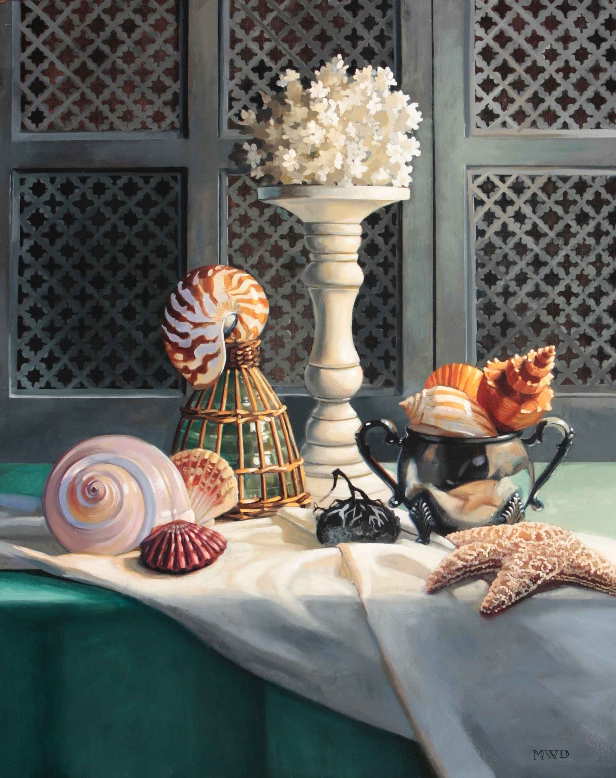 Beach Combing  by  Michelle Waldele