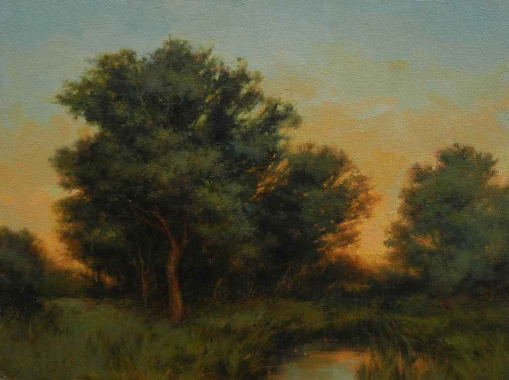Sunset at Rye by  Darlou Gams - Masterpiece Online