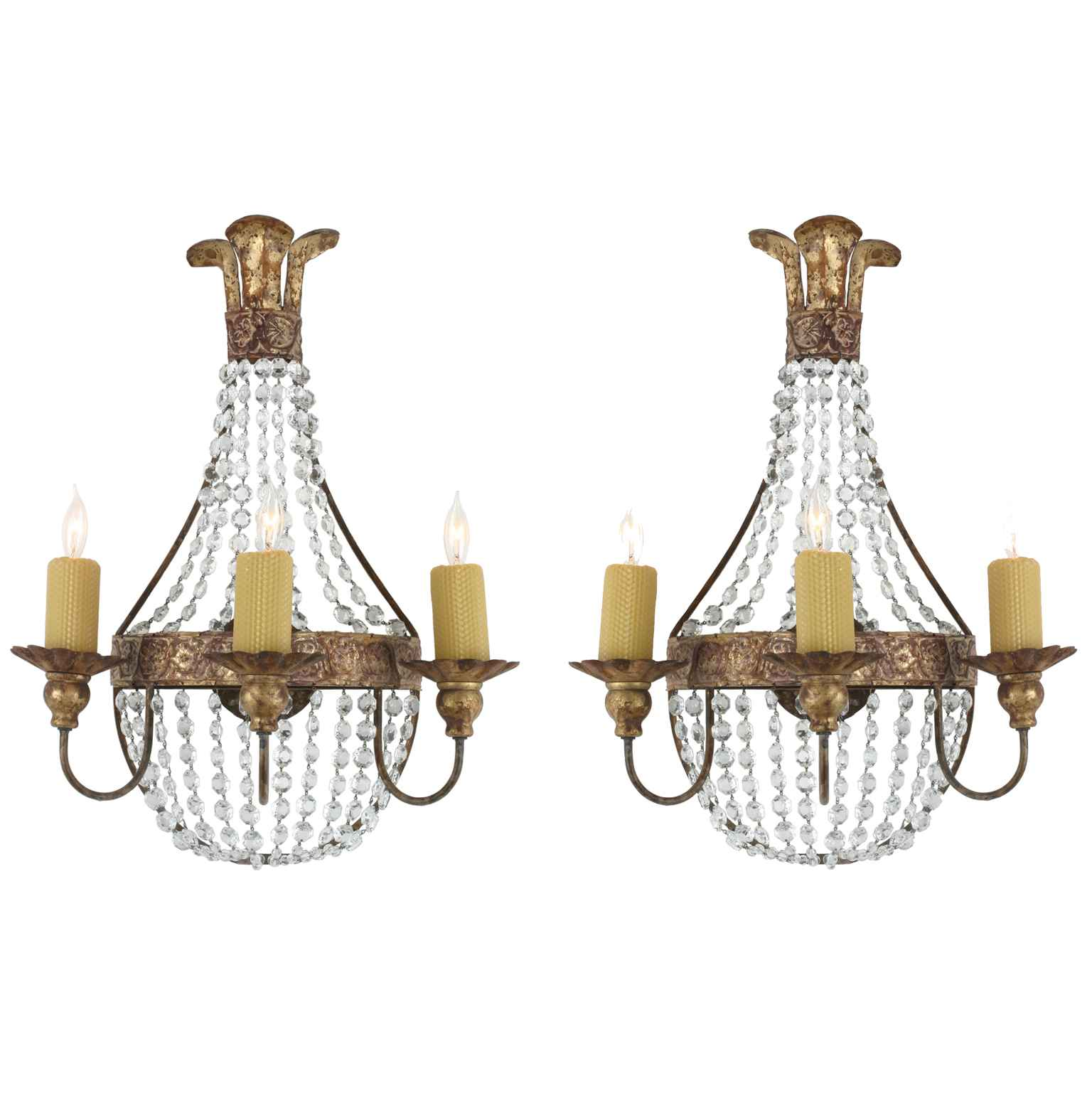 Pair of Sconces by  American  - Masterpiece Online