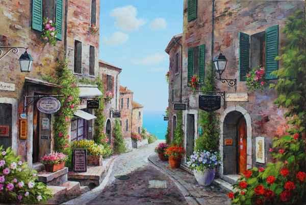 Quiet Village by  Soon Ju Choi  - Masterpiece Online