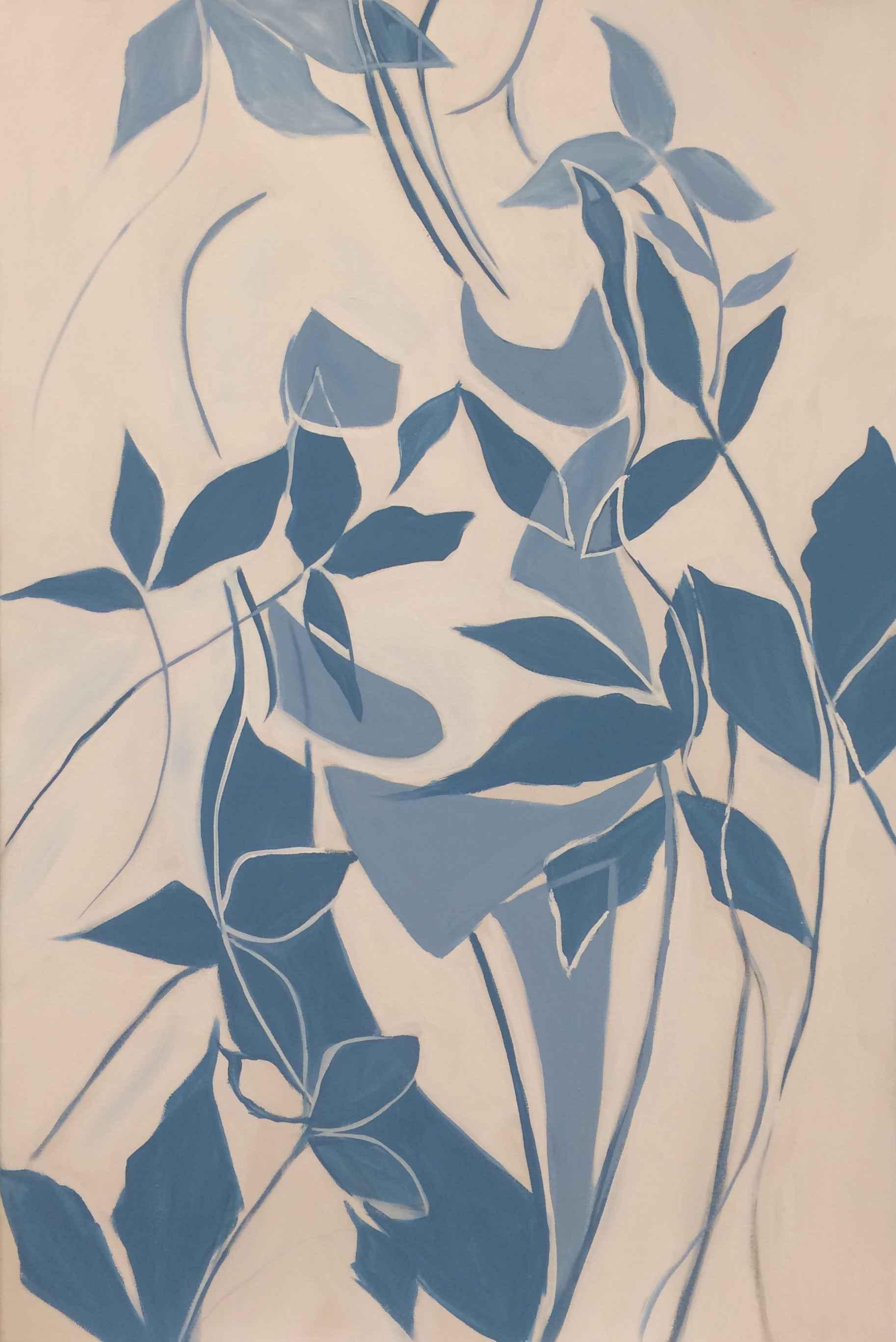 Woman in Blue by  Steve Lyons - Masterpiece Online