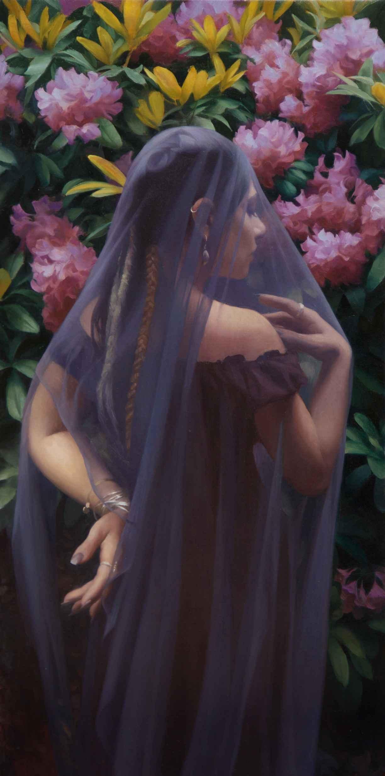 Violet Bride by  Adrienne Stein - Masterpiece Online