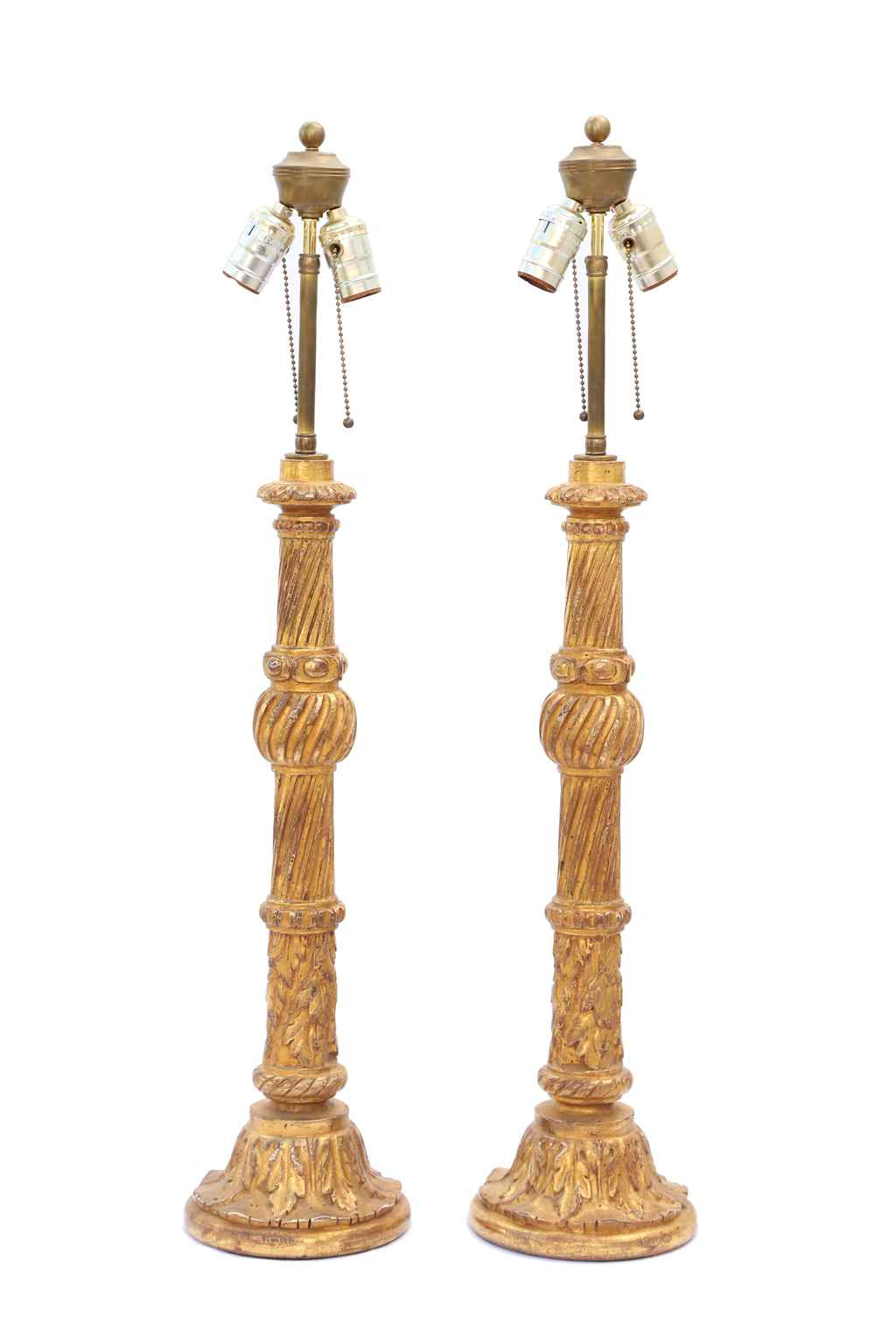 Pair of Carved Giltwo... by  Italian  - Masterpiece Online