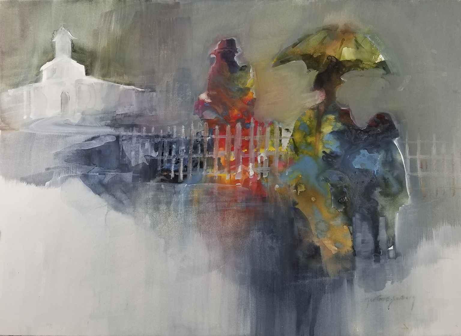 Rainy Day Sunday by  Morten E. Solberg - Masterpiece Online