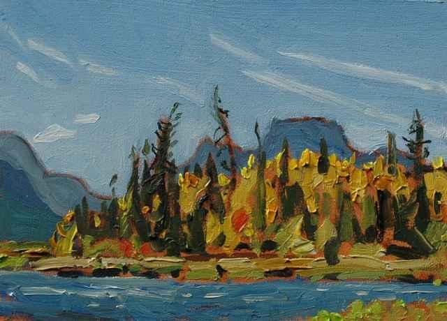 Pilot Peak from Vermi... by Mr. Dennis Brown - Masterpiece Online