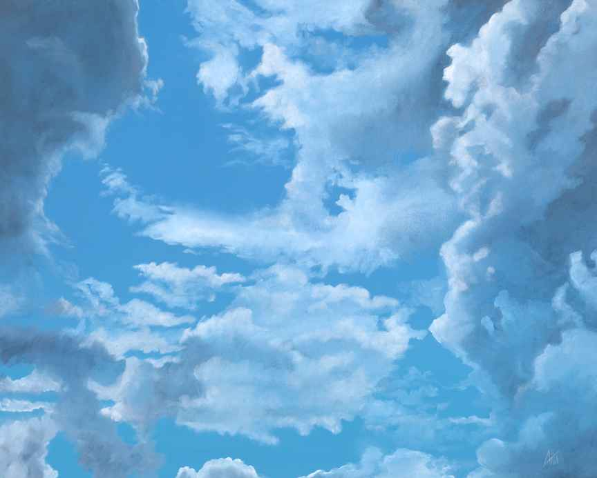 Sky Study by  Kevin Aita - Masterpiece Online