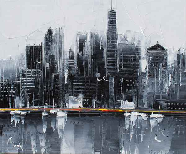Foggy San Francisco by  Louis  Magre - Masterpiece Online