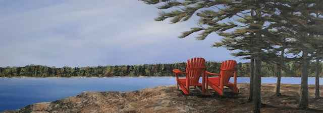 Northern Ontario View by  Janet Liesemer - Masterpiece Online