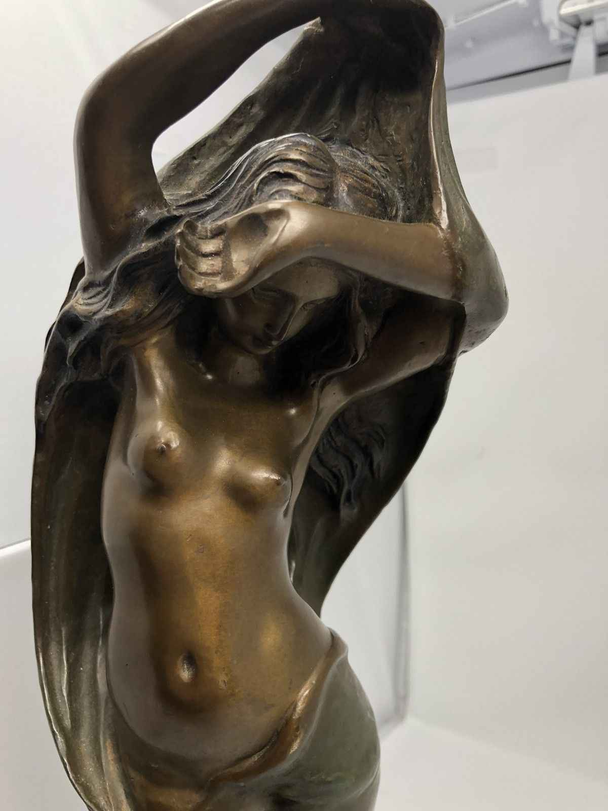 Nude With Cherub by  Emile Peynot - Masterpiece Online