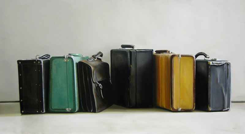 Six Pieces Of Luggage  by  Christopher Stott
