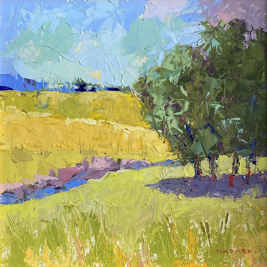 Tisbury Summer Meadow by  Carol Maguire - Masterpiece Online