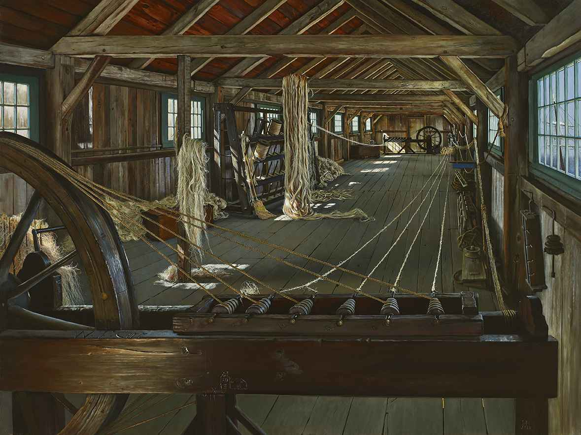 The Spinning Loft by  Heather Neill - Masterpiece Online