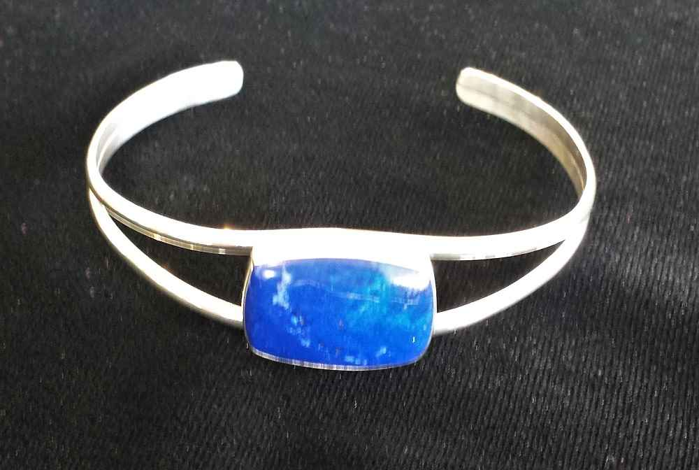 #8 Lapis Lazuli Brace... by Ms. Catherine Laing - Masterpiece Online