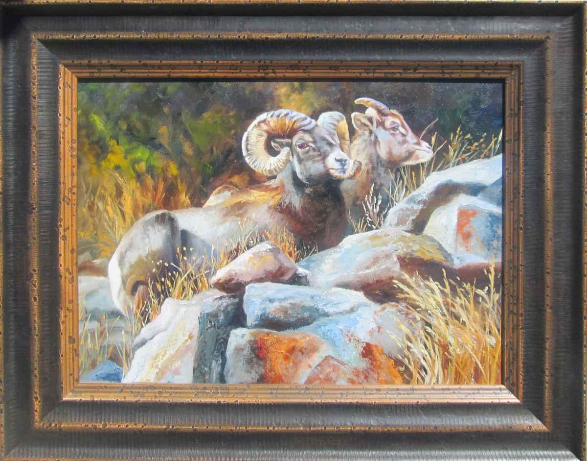 Rocky Mountain Rest by  Sonia Reid - Masterpiece Online
