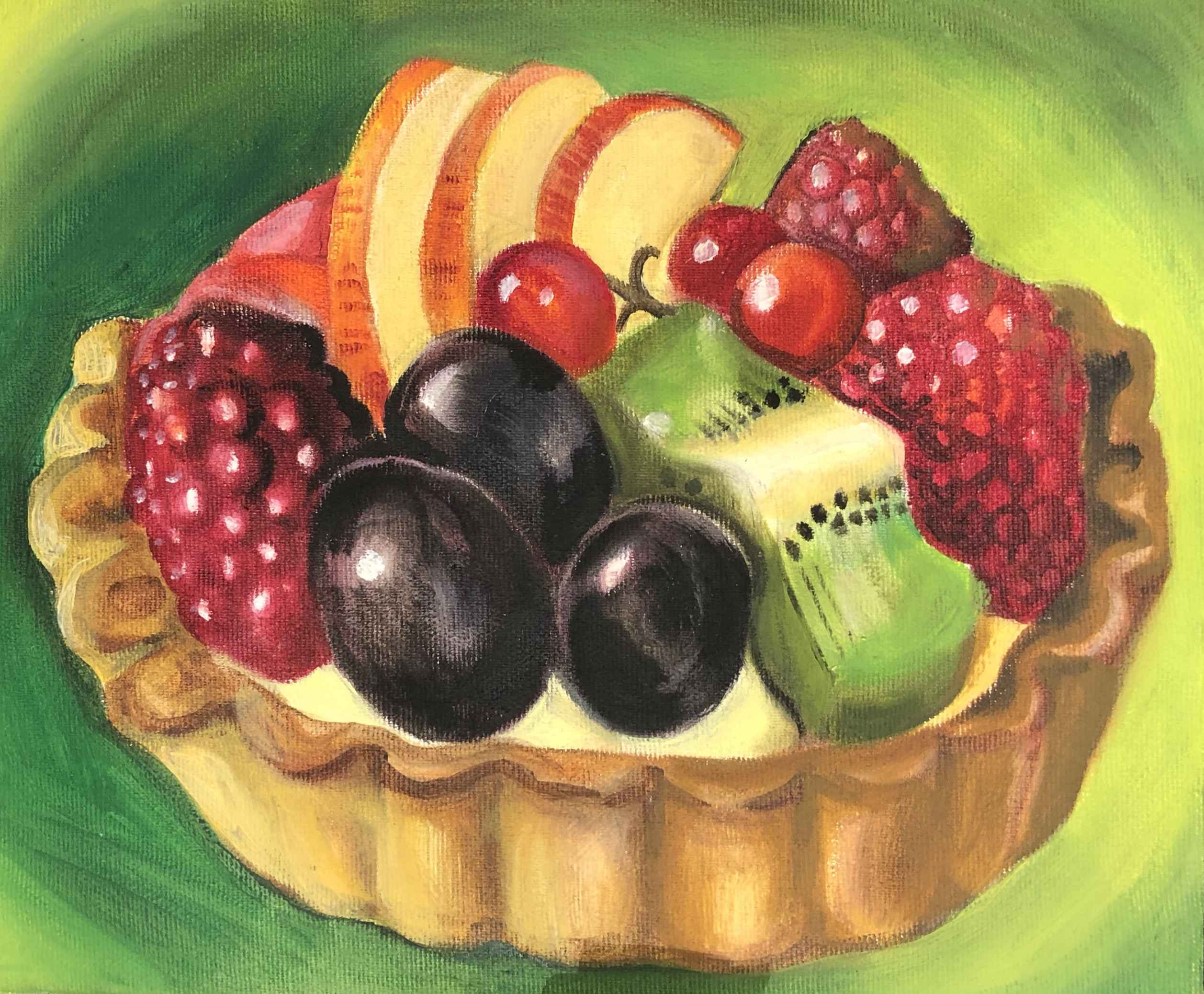 Tarte aux Fruits III by Ms. Rebecca Vincenzi - Masterpiece Online