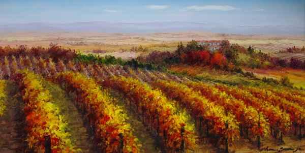 Hillside Vines by  Soon Ju Choi  - Masterpiece Online