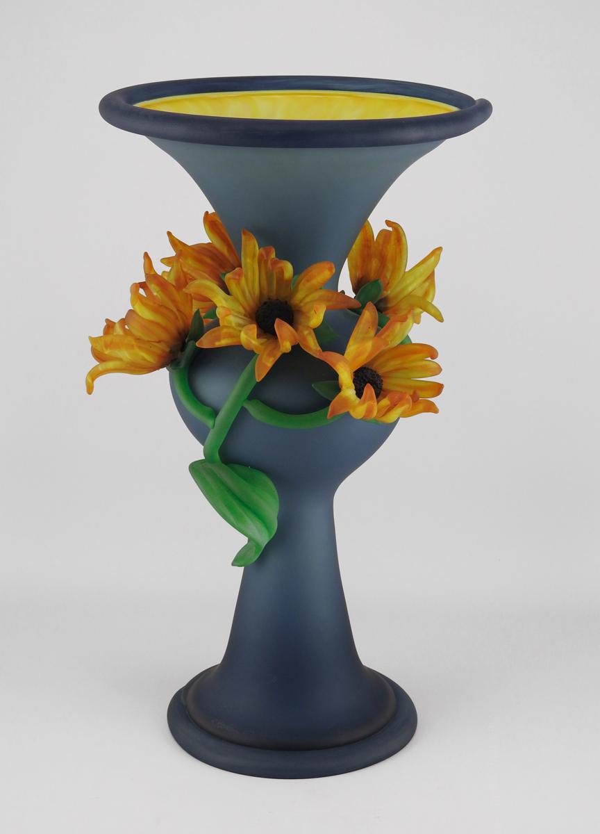 Large Flower Vase/Ste... by  Susan Rankin - Masterpiece Online
