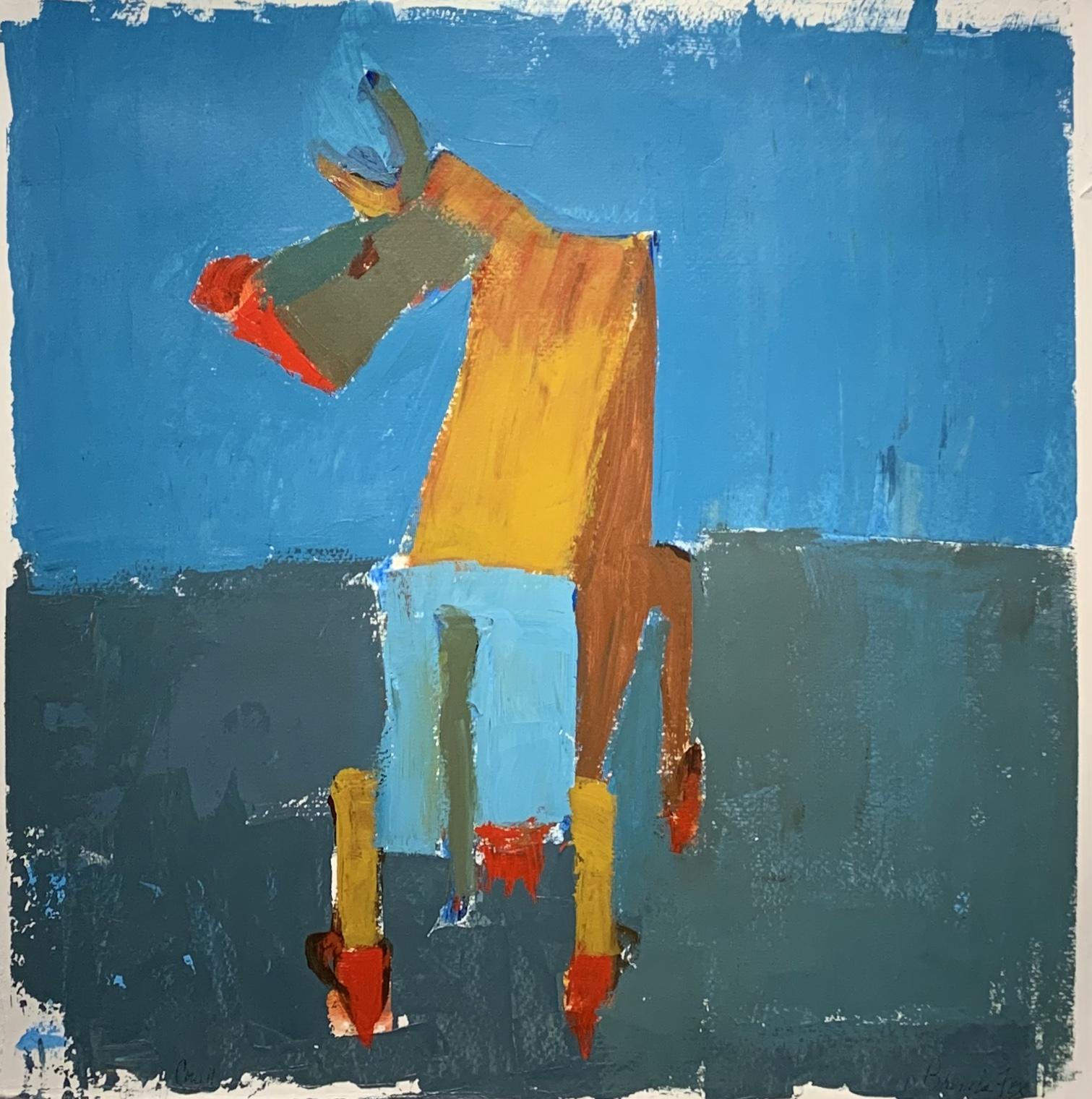 Cow II by  Brenda Fox - Masterpiece Online