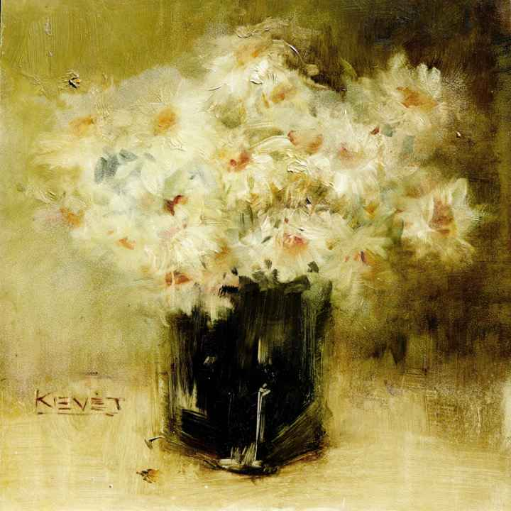 Impressions of Daisies  by  Fran Kievet