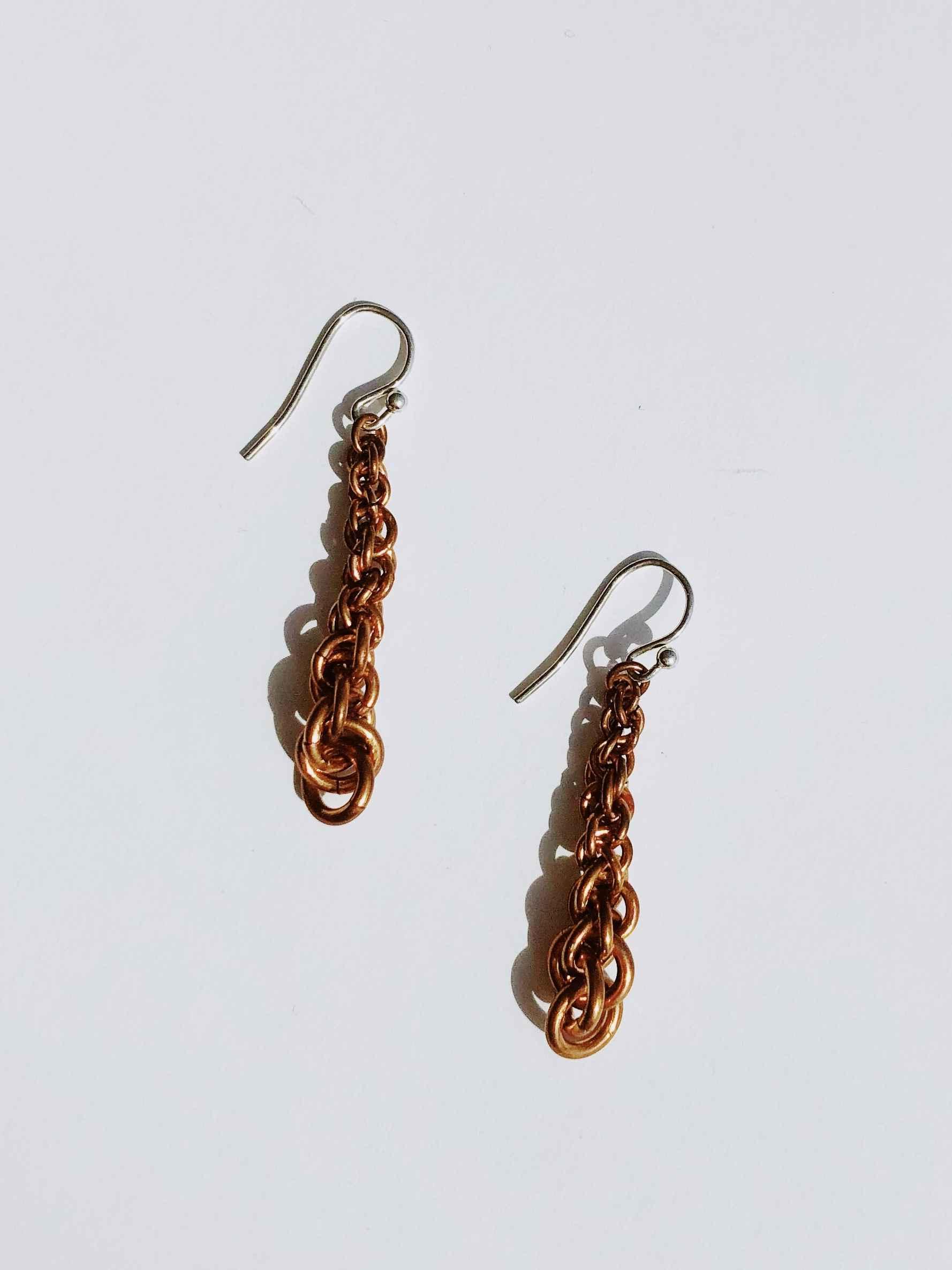 Copper Jens Pend Earr... by  Nancy Neeb - Masterpiece Online
